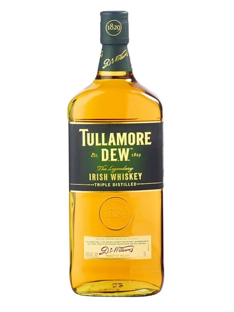 Виски талламор дью (tullamore dew): история, обзор вкуса и видов