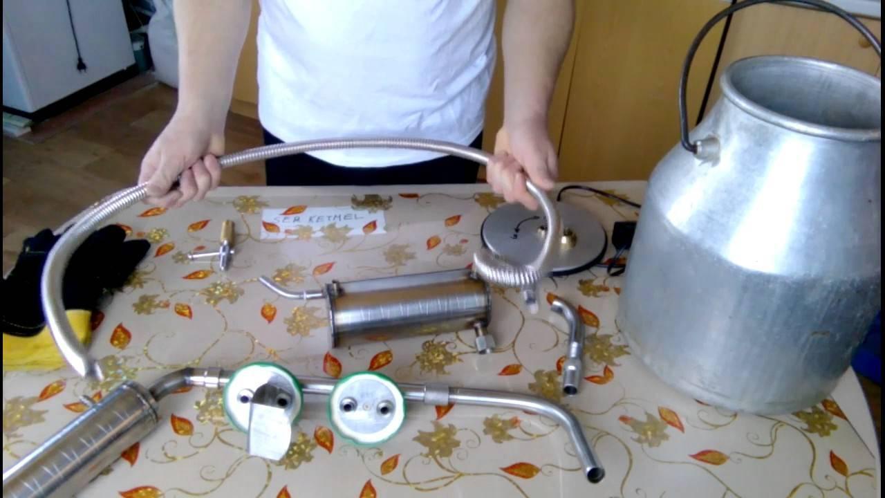 Изготовление самогонного аппарата из мультиварки