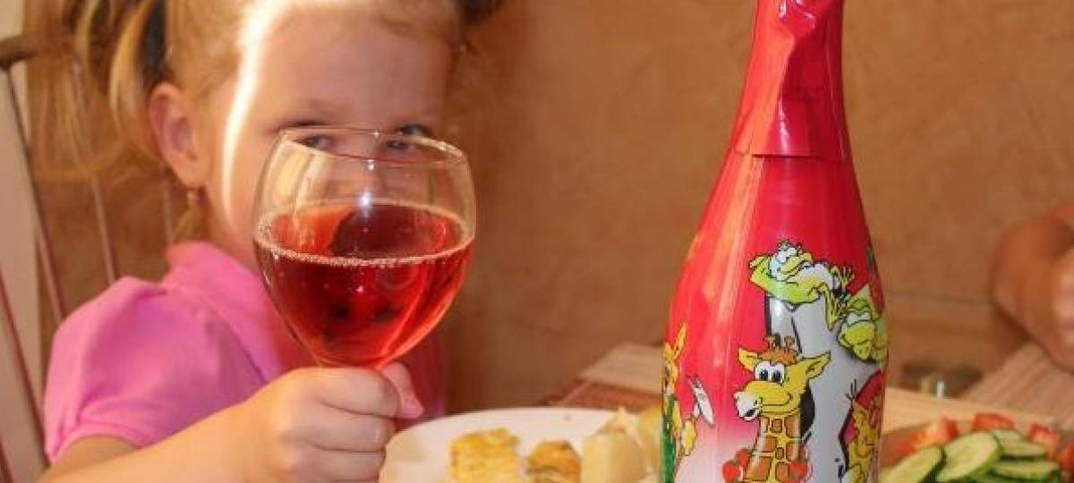 Обзор детского шампанского