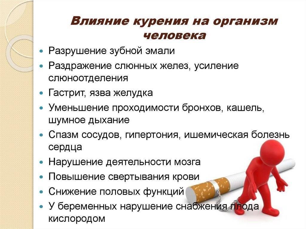 Влияние курения на нервную систему человека и связь никотина с паническими атаками