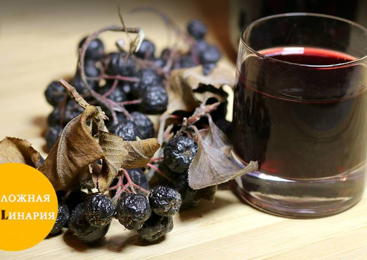 Вкусный и быстрый рецепт настойки из черноплодной рябины