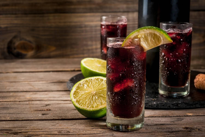 Розовые вина коктейли | любимые коктейли
