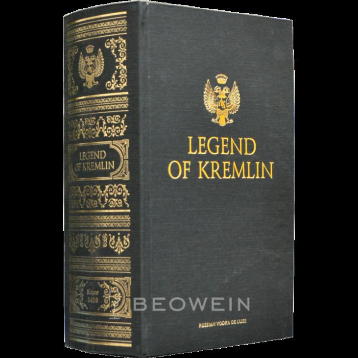 Обзор водки легенда кремля