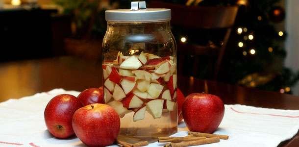 Наливка яблочная