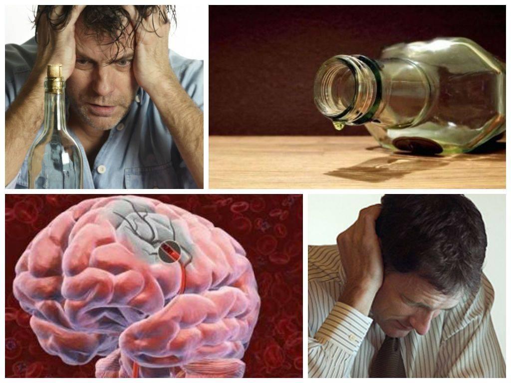 Симптомы и последствия алкогольного психоза