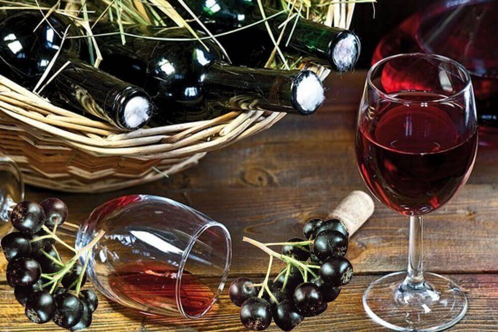 Настойка из черноплодной рябины на водке, спирту и самогоне
