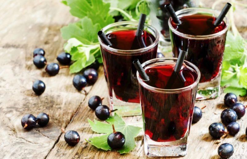 Домашний ликер из черной и красной смородины, крем де кассис