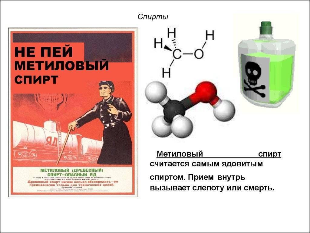 Этиловый или метиловый как определить. как отличить этиловый спирт от метилового в домашних условиях? этанол соединяют с водой в любых пропорциях