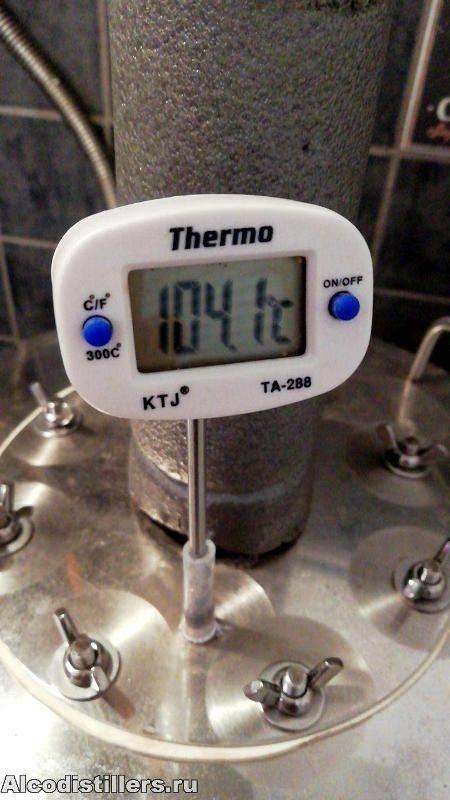 Как установить термометр на самогонный аппарат
