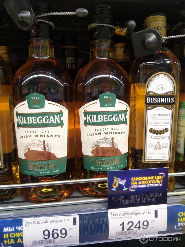 Виски килбегган (kilbeggan): история, обзор вкуса и видов