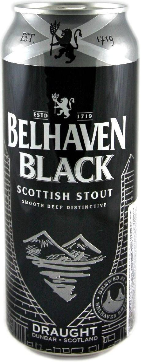 Обзор пива belhaven scottish stout