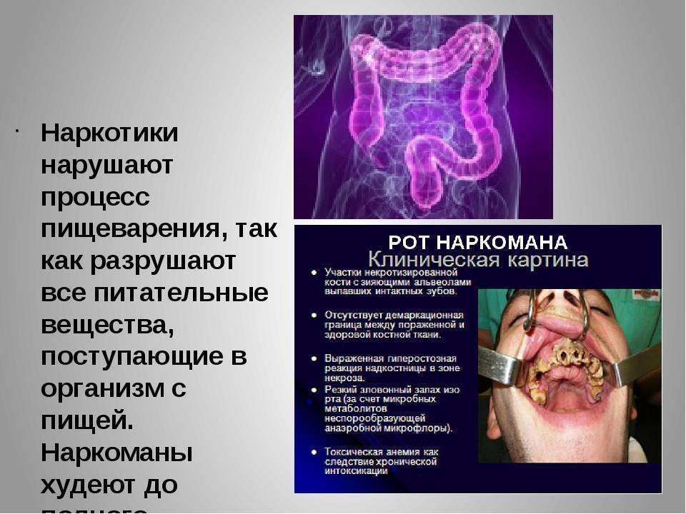 Как курение влияет на желудок и кишечник?