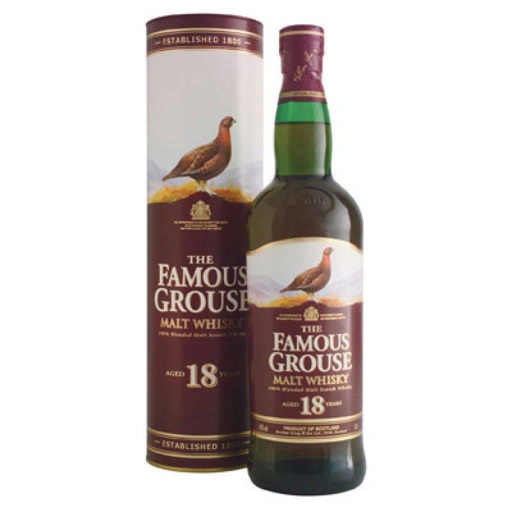 Famous grouse: шотландский виски, состав, производитель, виды, особенности употребления