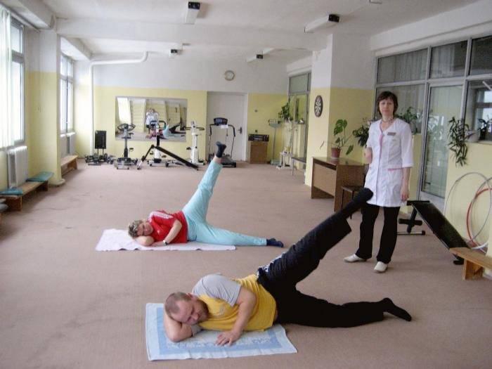 Упражнения для лфк при пиелонефрите