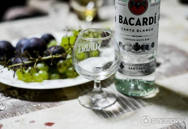 Узнаем как пить ром бакарди правильно?