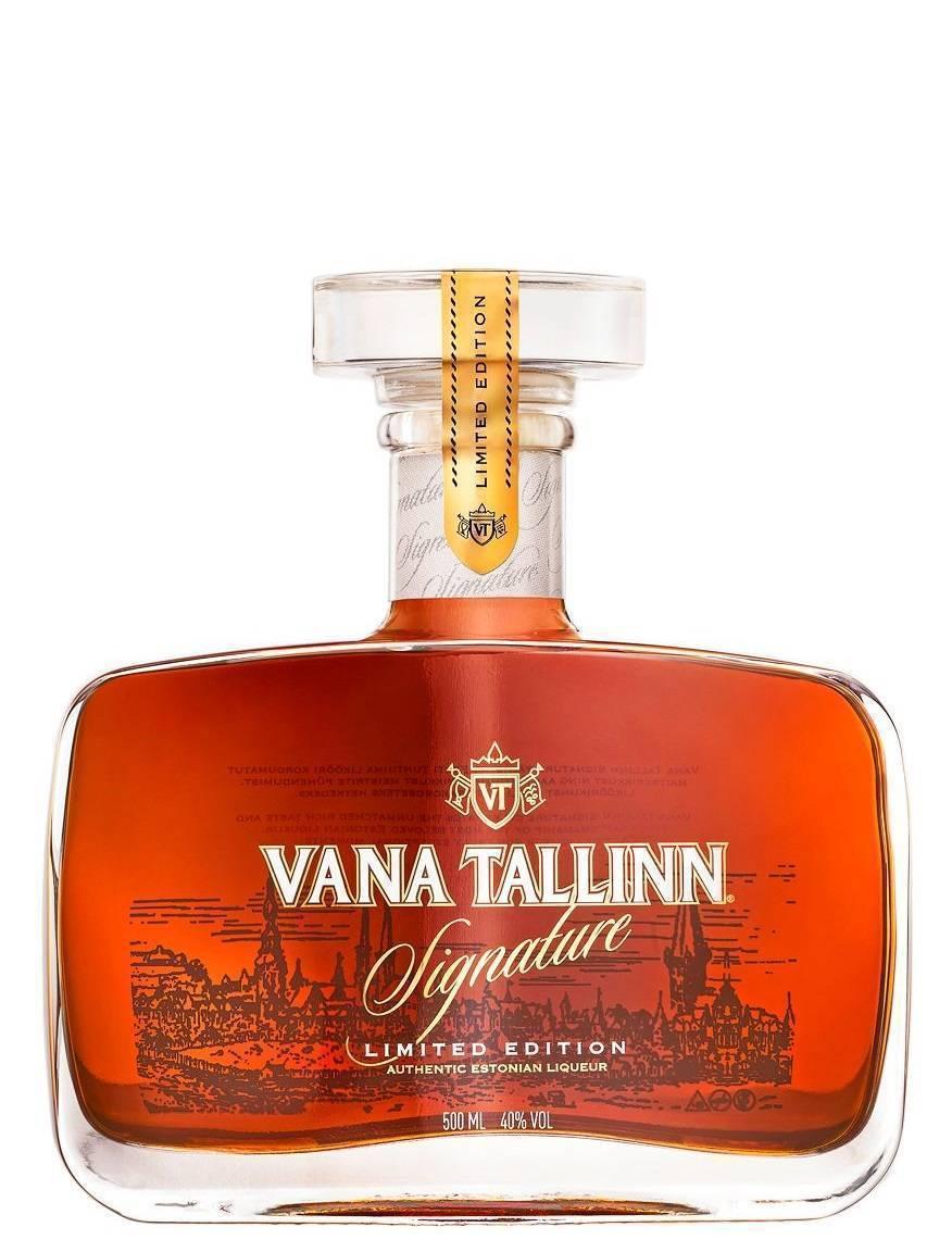 Обзор ликера Vana Tallinn