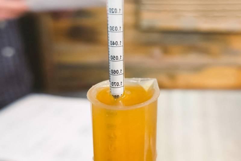 Что такое плотность пива, калькулятор и таблица для измерения