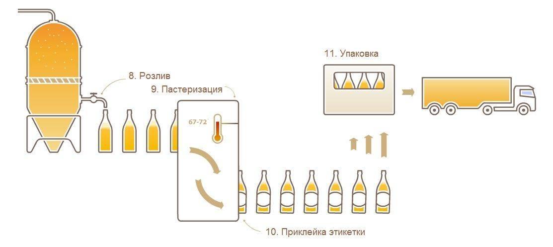 Отличия пастеризованного и непастеризованного пива