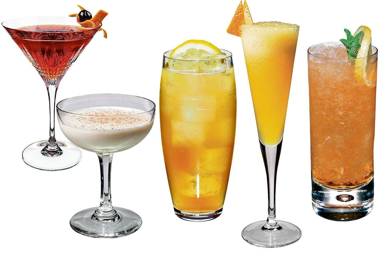 Рецепты коктейлей с бурбоном