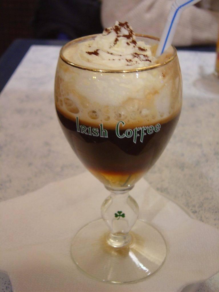 Ирландский кофе (irish coffee) – рецепт, состав, как готовить   koktejli.ru