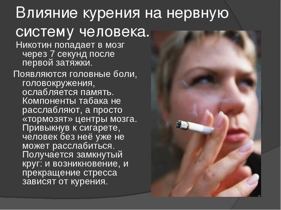 Неоспоримые факты о вреде курения