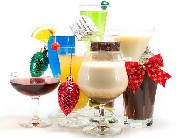 Алкогольные и безалкогольные напитки на новый год 2016. женский сайт www.inmoment.ru