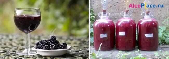Готовим ежевичное вино самостоятельно. популярные рецепты своими руками