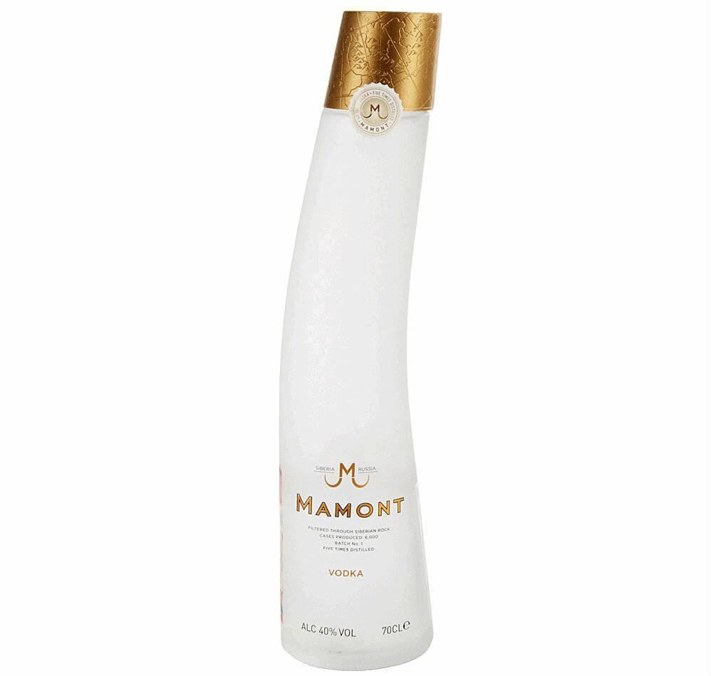 Как отличить настоящую водку «мамонт» (mamont) от подделки?