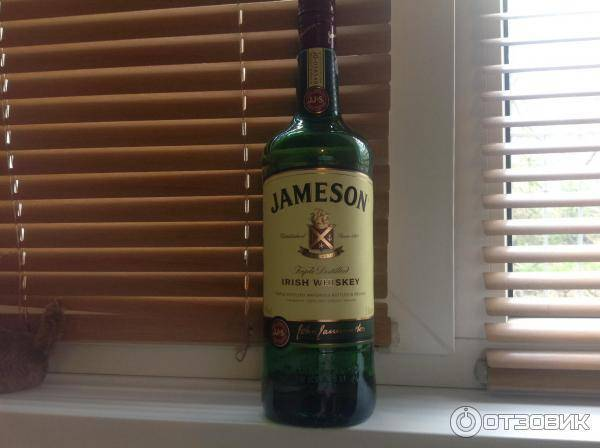 Виски джемисон: история возникновения виски jameson, особенности производства и виды