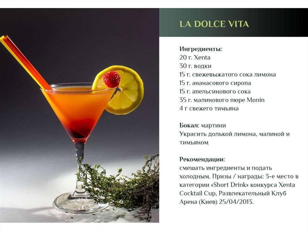 Рецепты и методика приготовления коктейлей шотов