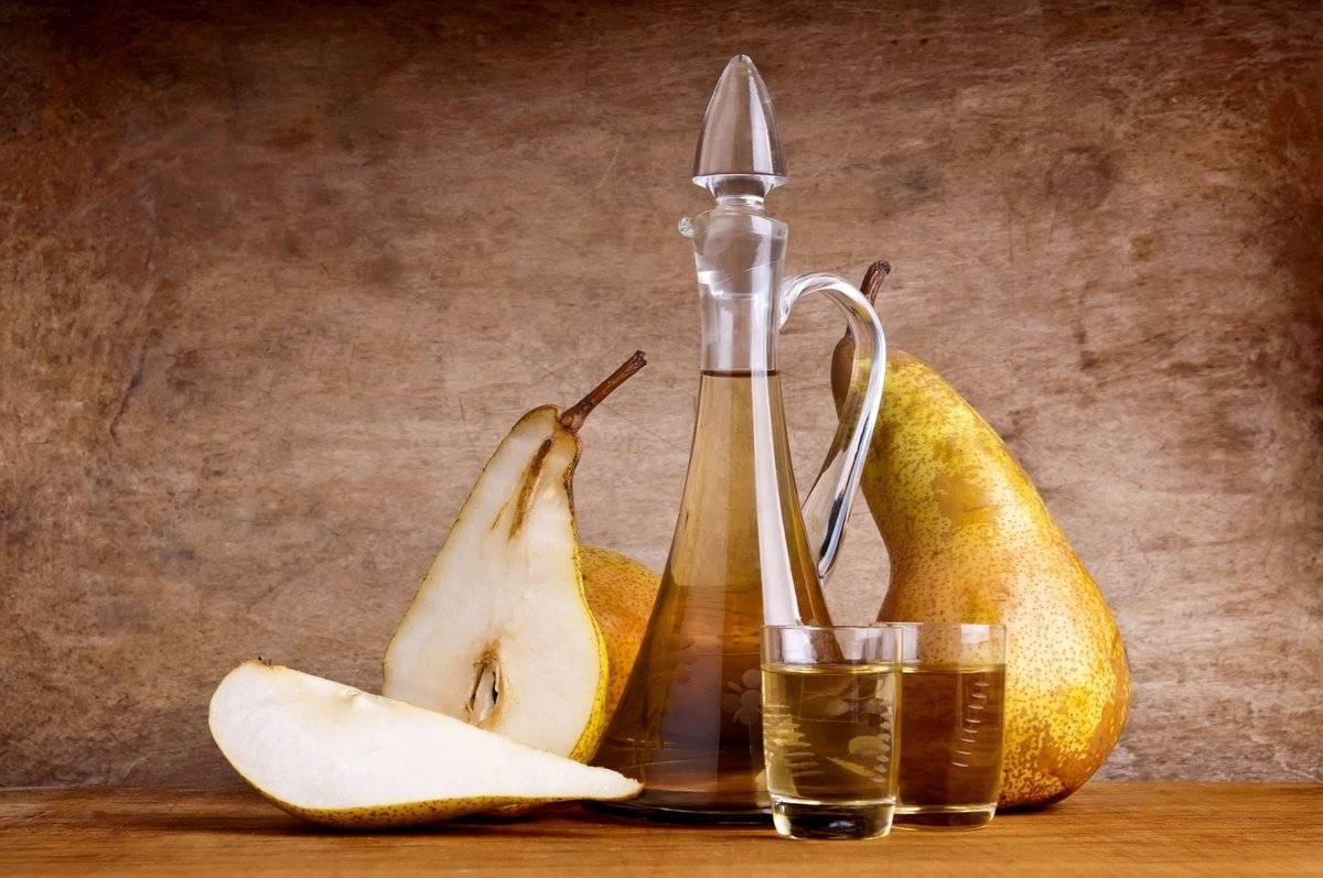 Настойка на грушах водки, спирта, самогона – 3 рецепта