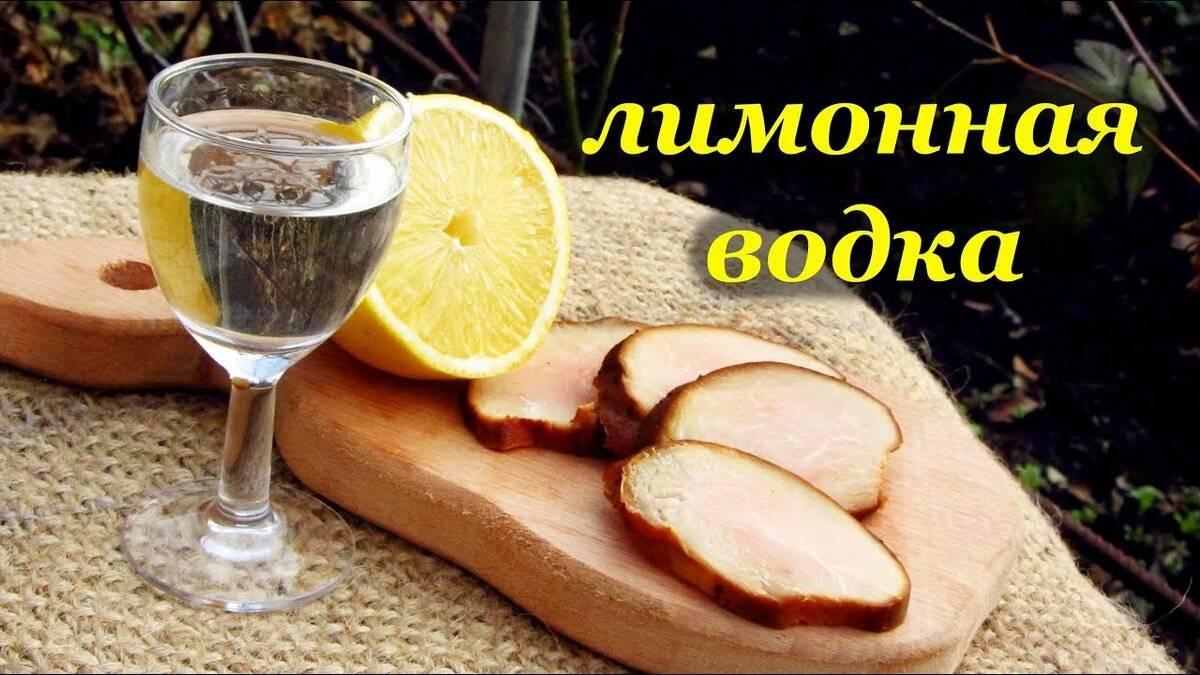 Готовим лимонную водку в домашних условиях. как сделать по рецепту?