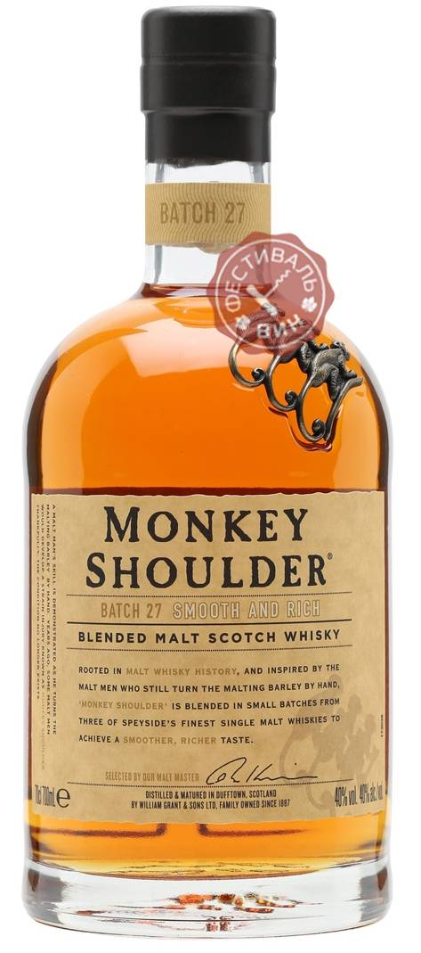 Обзор виски monkey shoulder (манки шолдер)