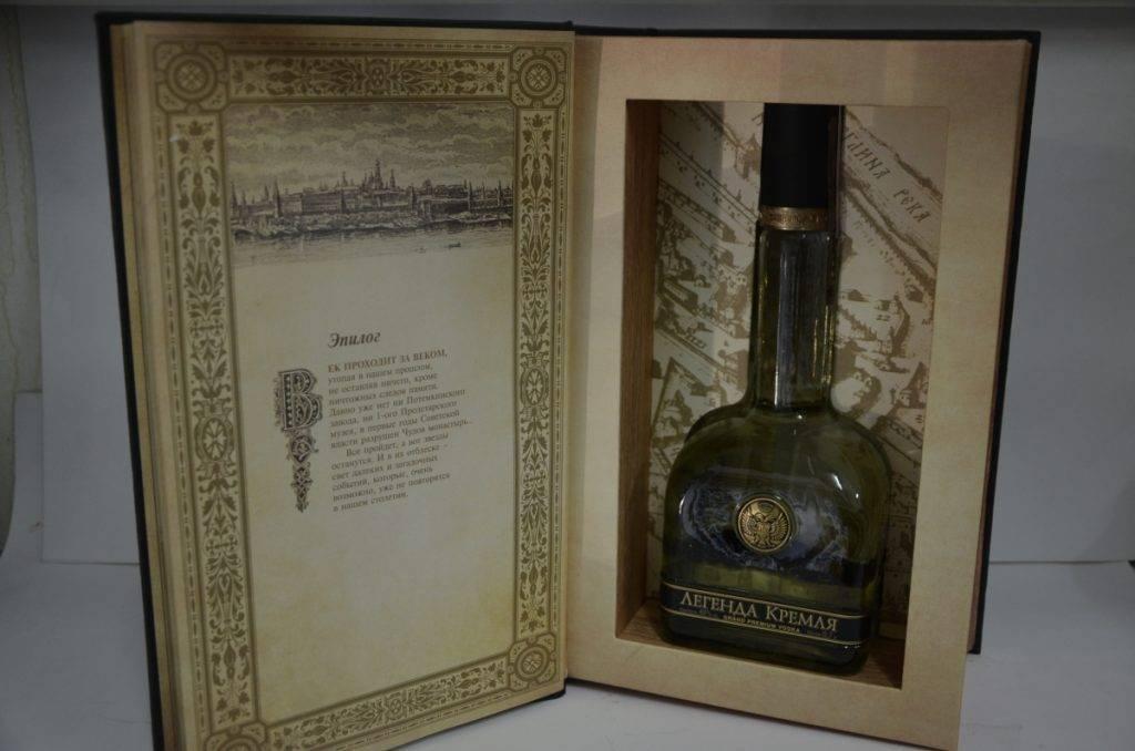 Эксклюзивный подарок: водка легенда кремля