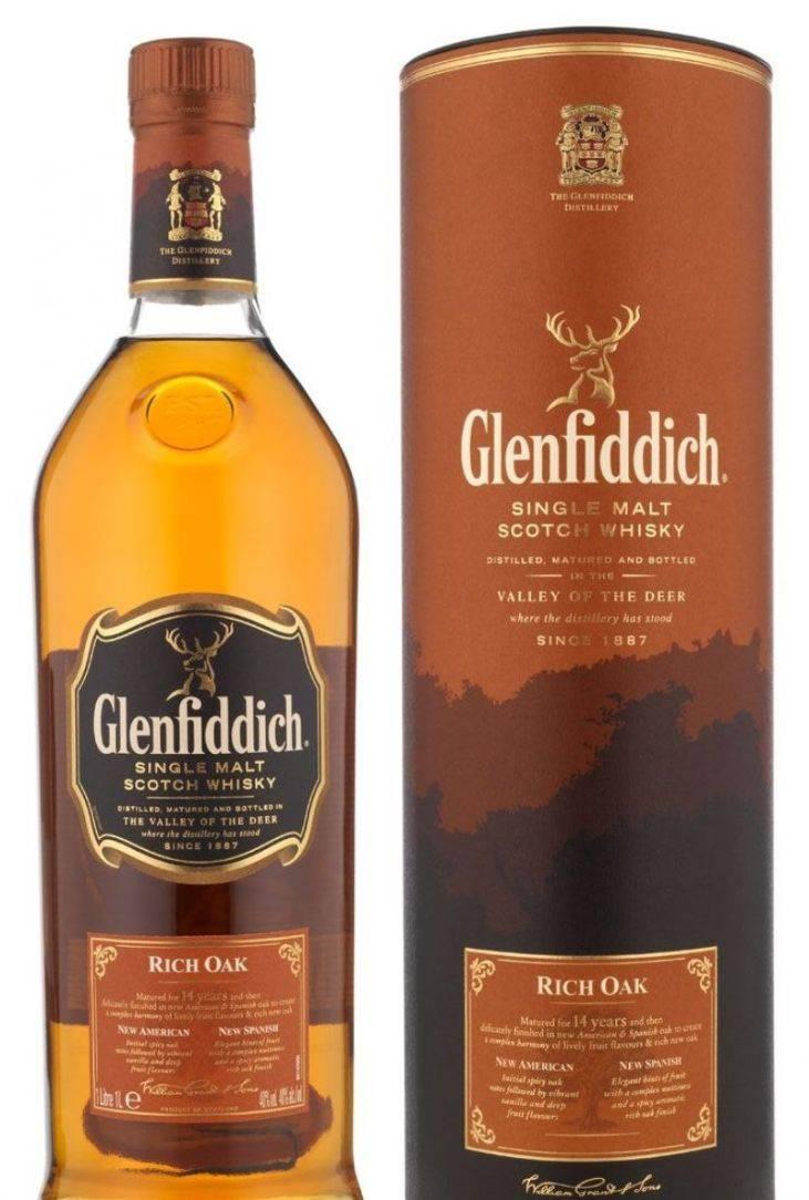 Виски glenfiddich — односолодовый скотч