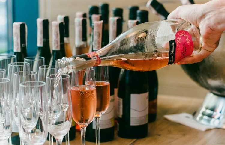 Сколько градусов в шампанском | лотос