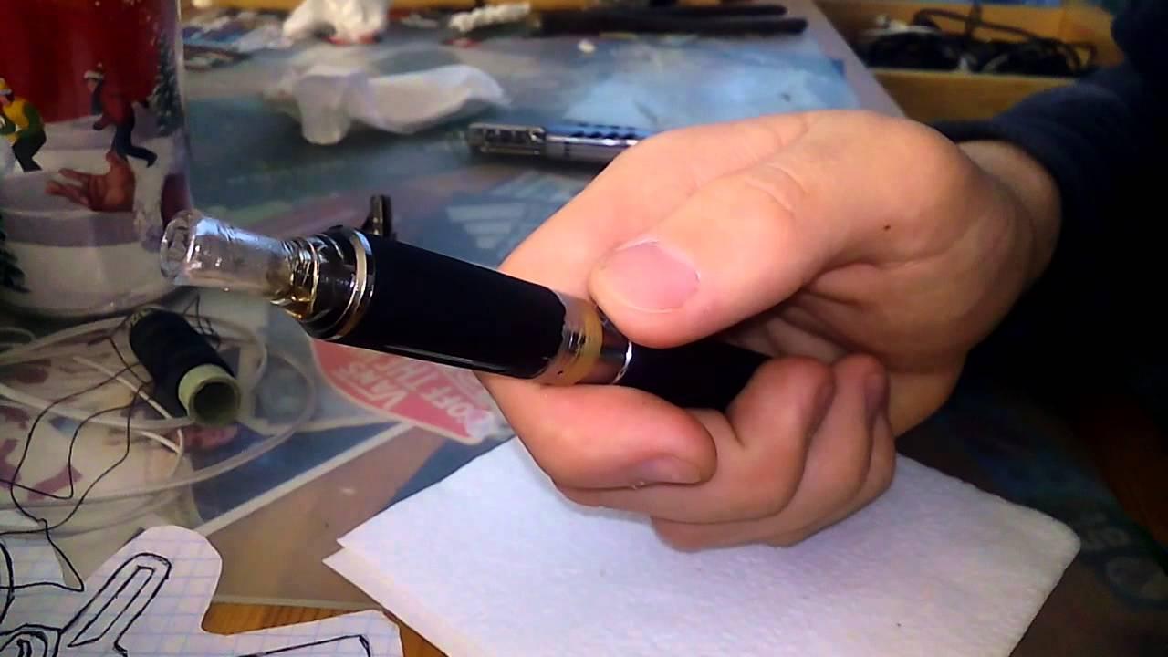 Как правильно разобрать е-сигарету ijust?