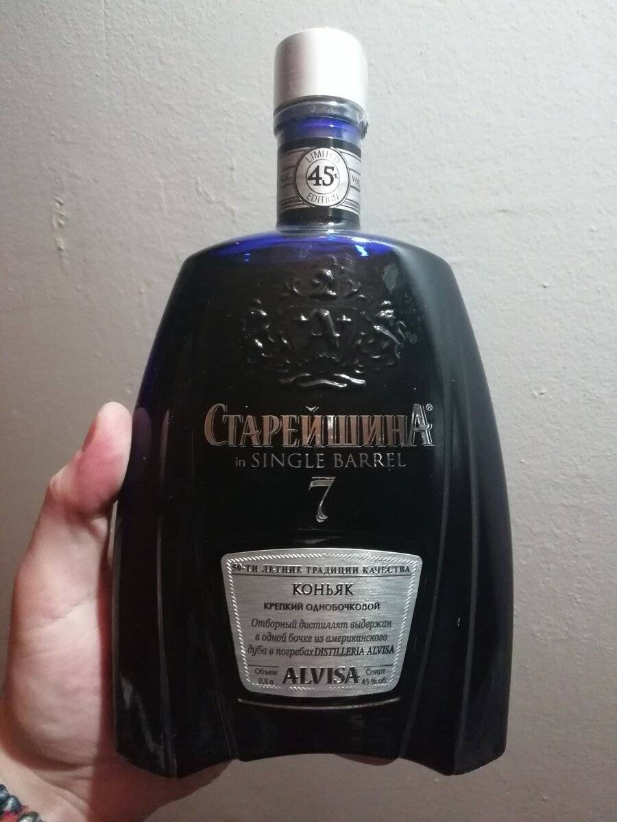 Коньяк старейшина — доступный, элитный напиток