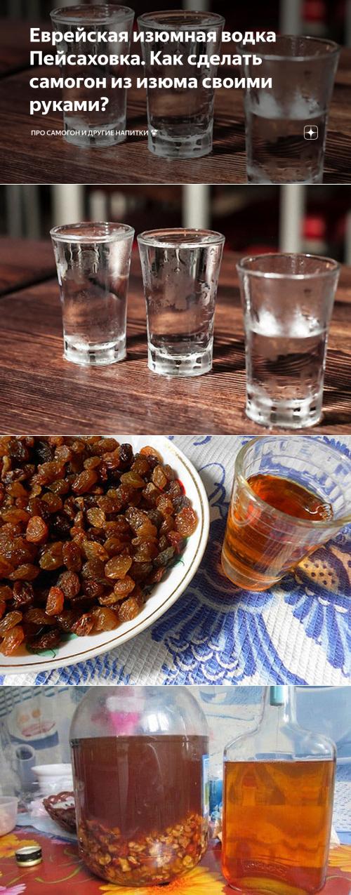 Рецепты пейсаховки — история алкоголя