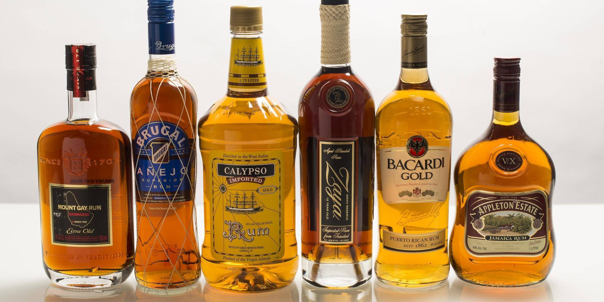 Сколько градусов в роме? какие напитки можно делать с ним? что такое бакарди?