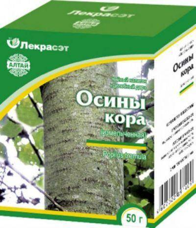 Настойка коры осины на водке польза и применение