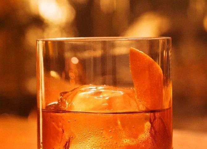 Алкогольный коктейль «крёстный отец»: рецепт с фото