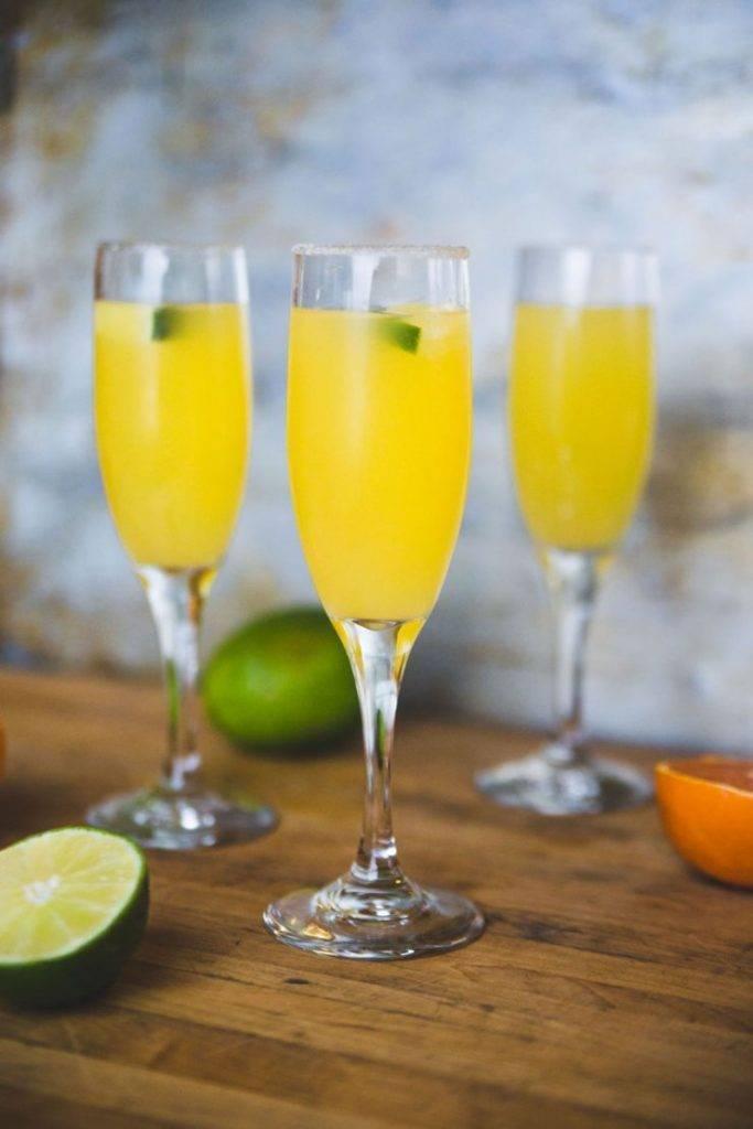 Классический рецепт коктейля мимоза с шампанским | bezprivychek.ru