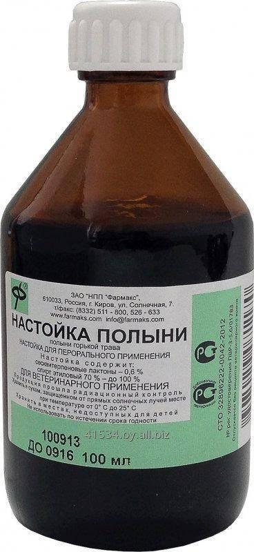 Описание лечебных свойств и противопоказаний горькой полыни, инструкция по применению настойки