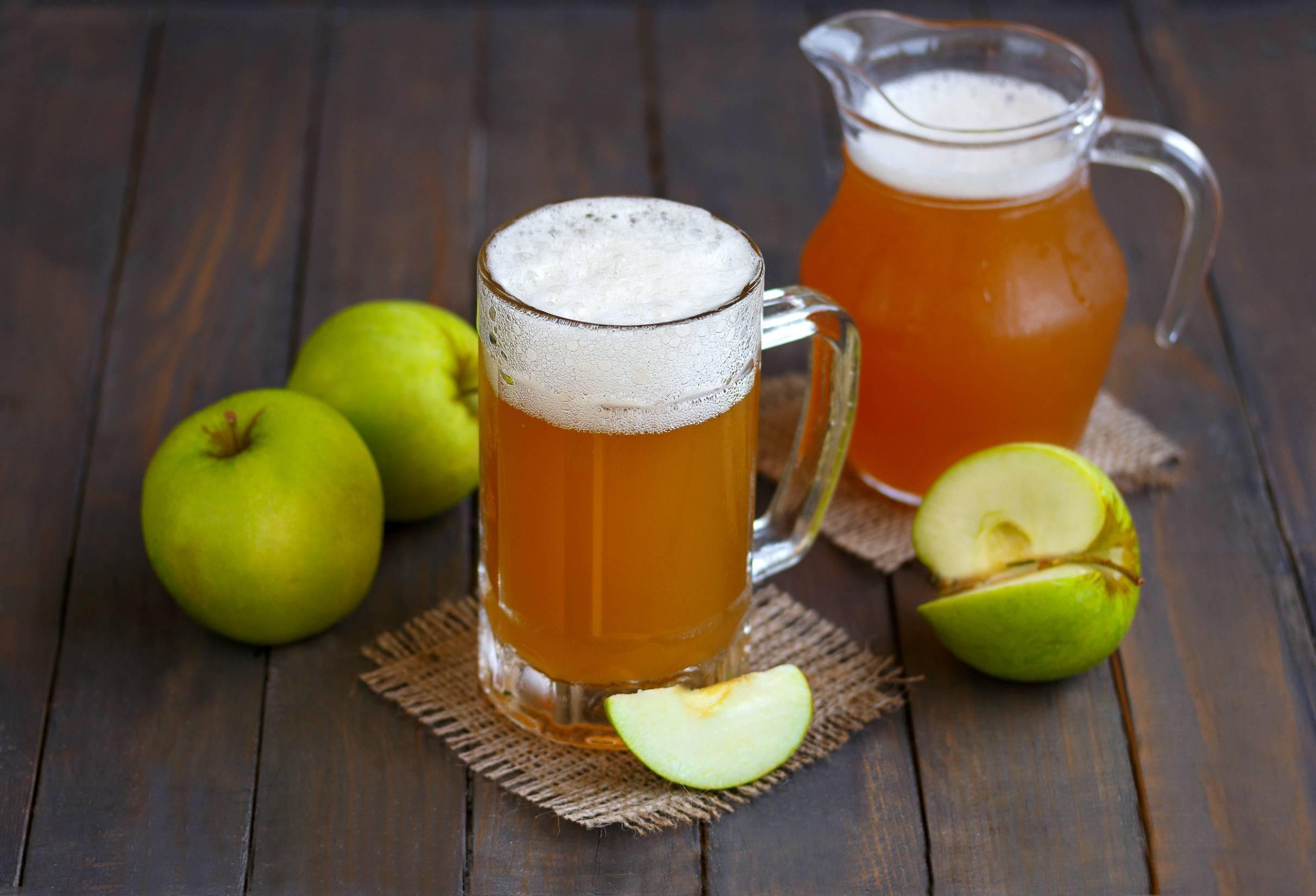 Сидр яблочный в домашних условиях - 5 рецептов с фото пошагово