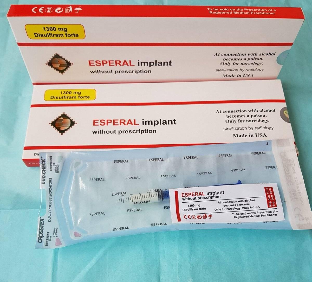 Эспераль (гель) под лопатку: отзывы, состав препарата, срок действия кодирования и результаты