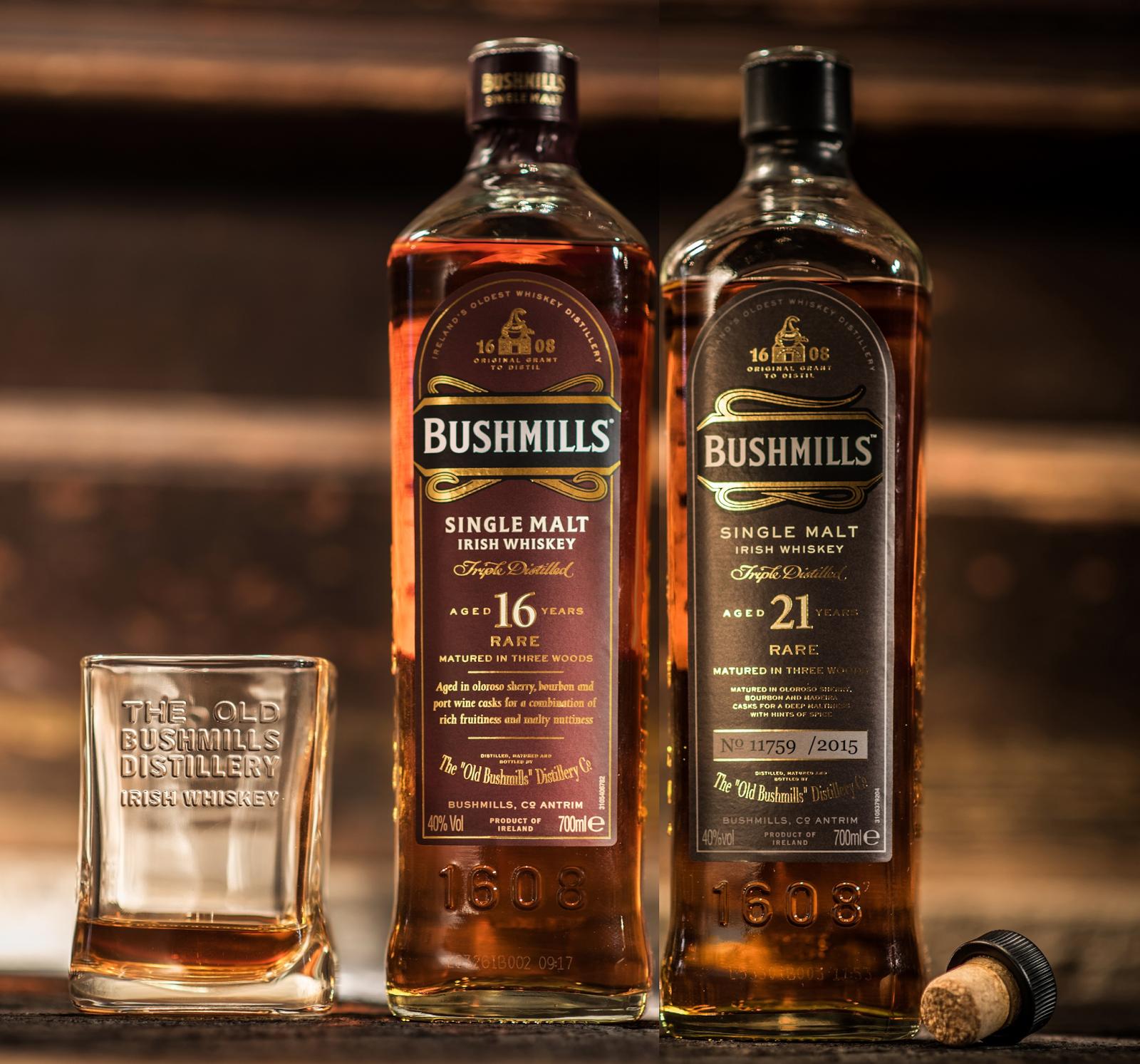 Виски bushmills (бушмилс) - древнейший ирландский виски