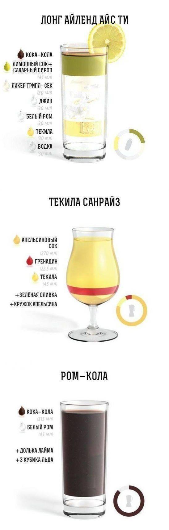 Коктейли с джином: рецепты приготовления. лучшие коктейли на основе джина