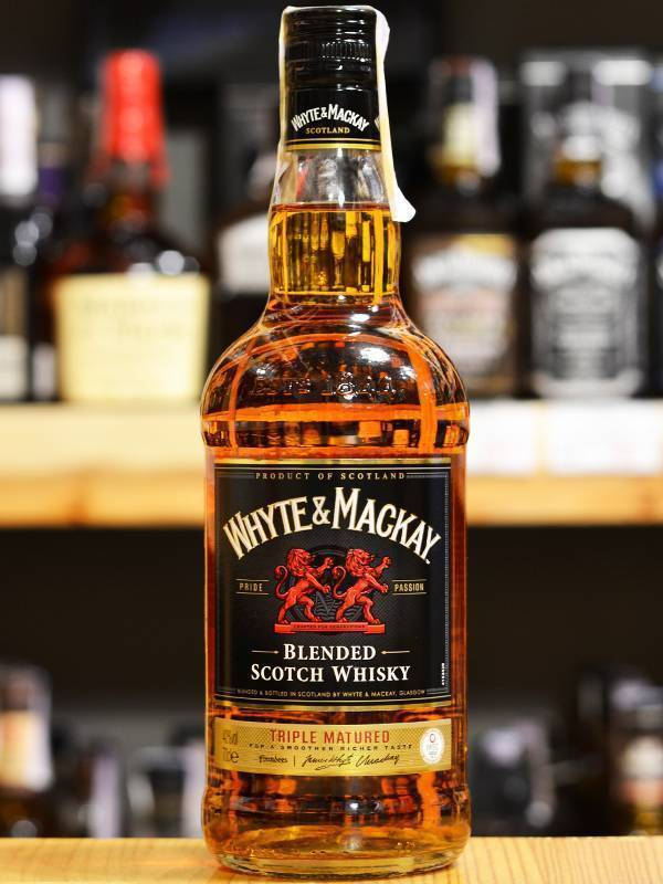 Виски whyte & mackay (уайт и маккэй): описание и виды