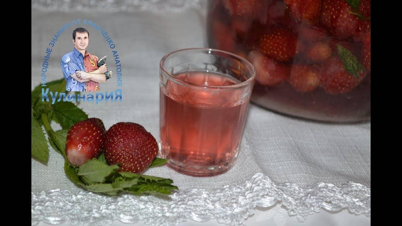 Настойки земляники на водке в домашних условиях – 3 рецепта